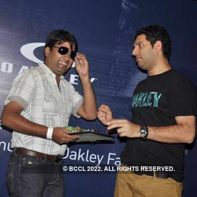 An evening with Yuvraj Singh