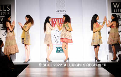 WIFW'11: Day 5: Ashish, Viral & Vikrant