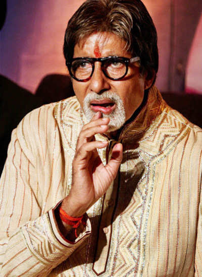 Big B celebrates b'day with KBC team