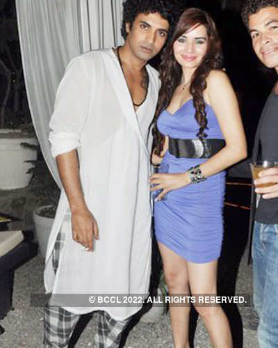 Rahul Singh's after show party