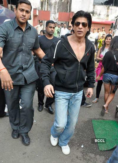 Shah Rukh Khan spotted!