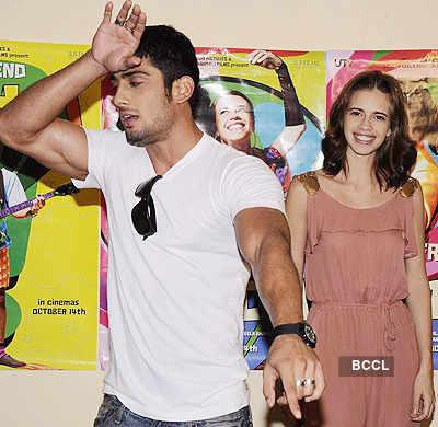 Kalki, Prateik promote 'My Friend Pinto'