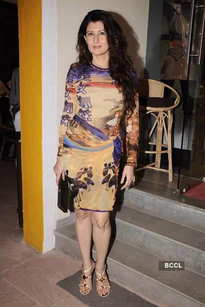Anita Dongre's cafe launch