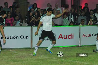 John plays at Audi Generation Cup