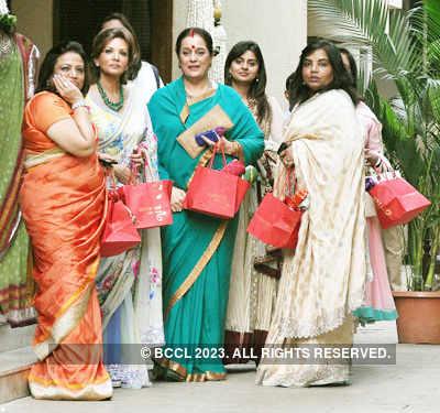 Aishwarya's baby shower