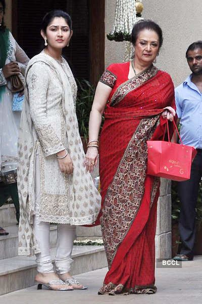 Aishwarya's baby shower