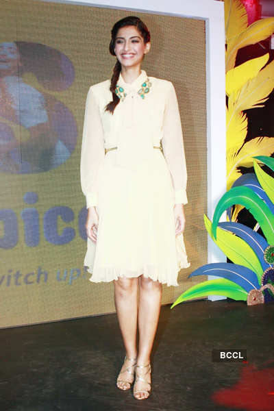 Sonam at mobile launch
