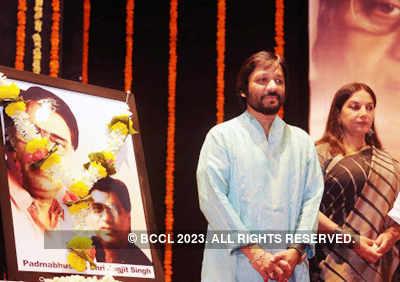 Musical tribute to late Jagjit Singh