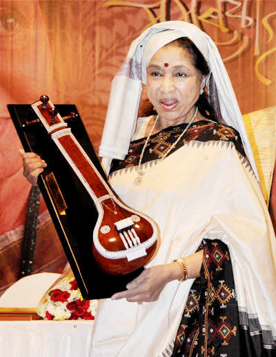 Asha Bhosle enters Guinness World Records