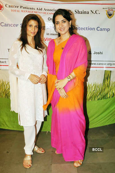 Shaina, Rhea at NGO event
