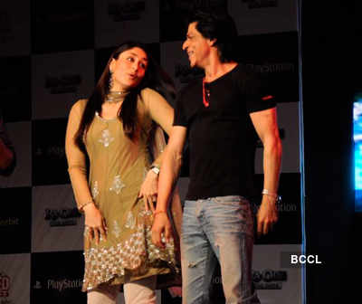 SRK, Kareena promote 'Ra.One'