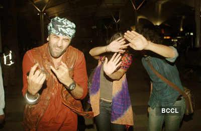 'Rockstar' cast returns to Mumbai