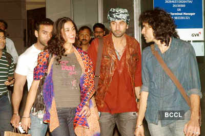 'Rockstar' cast returns to Mumbai