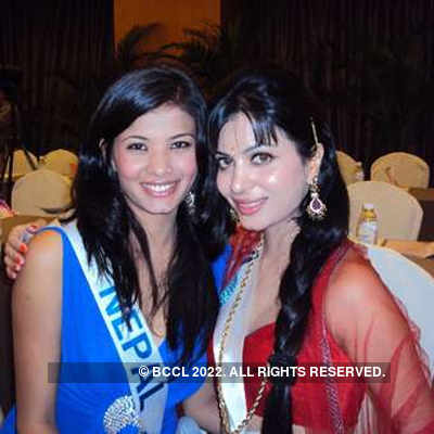 Ankita at Miss International '11 - Orientation day