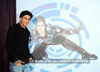 SRK unveils 'G.One-Nerolac' wall