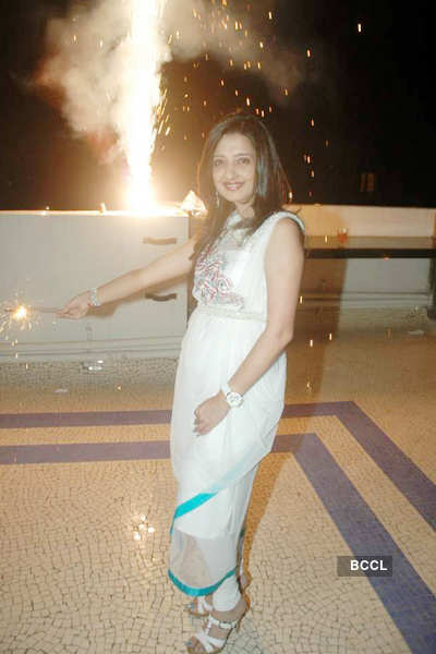 Amy Billimoria's Diwali bash