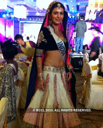 Ankita Shorey at Miss International 2011