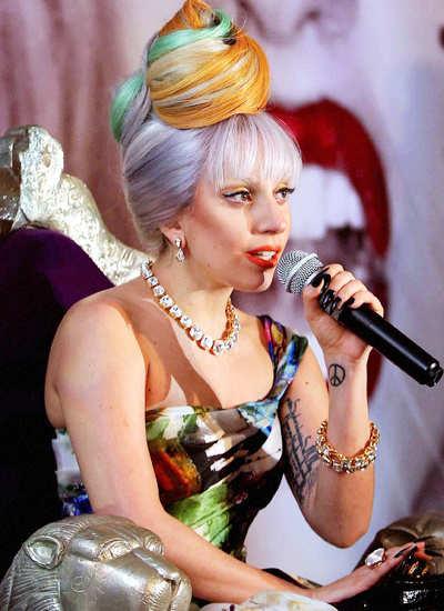 Lady Gaga visits India