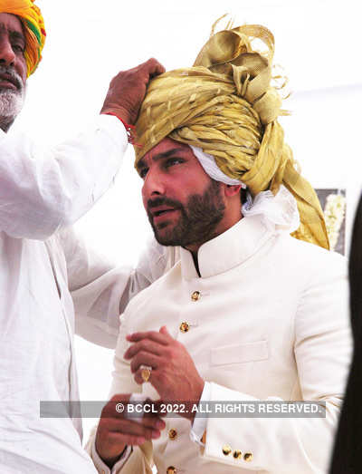 Saif becomes the 10th Nawab of Pataudi
