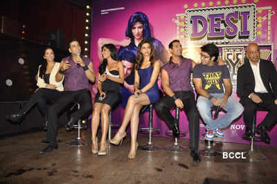 Music launch: 'Desi Boyz'