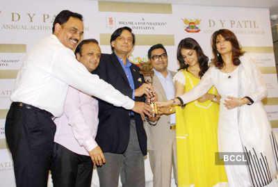 Press meet: 'D.Y.Patil' awards