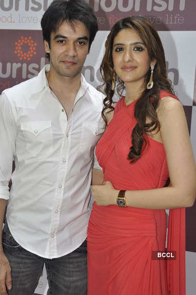 Celebs at launch of 'Nourish'