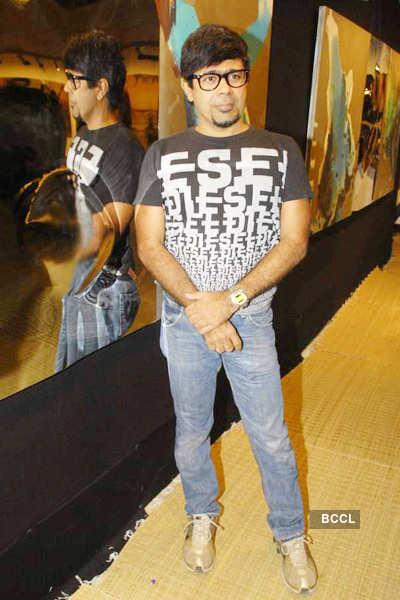 Sudip Roy's art exhibition