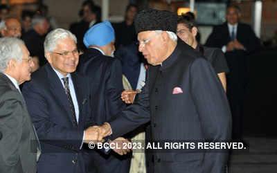 Launch of K P Singh's autobiography
