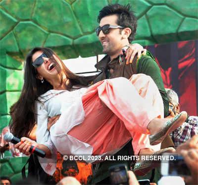 Nargis at Ranbir' b'day