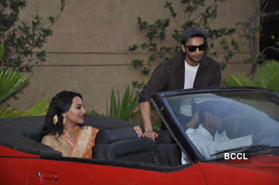 Ranveer, Sonakshi at launch of 'Lootera'