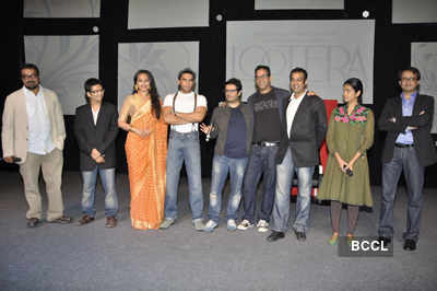 Ranveer, Sonakshi at launch of 'Lootera'