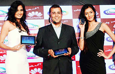 Launch of Huawei Cloud phones