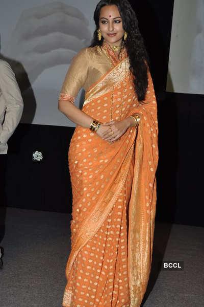 Sonakshi at launch