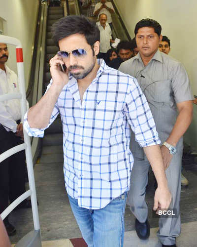 Emraan promotes 'Dirty Picture'
