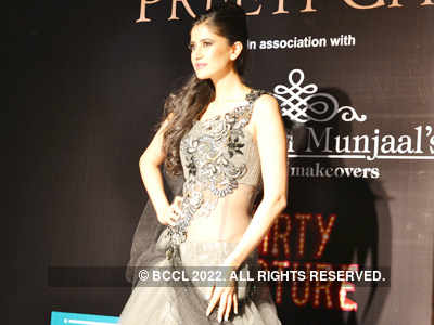 Fashion show by Preeti Ghai