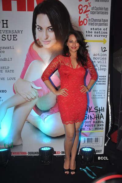 Sonakshi at FHM anniv.
