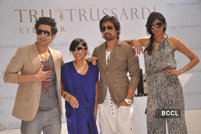 Launch of 'Trussardi' watches