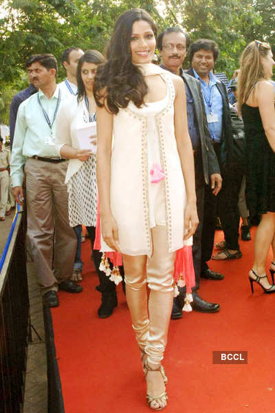 Celebs at '42nd IFFI'