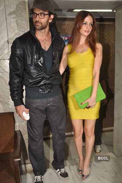Stars at Arjun Rampal's b'day bash