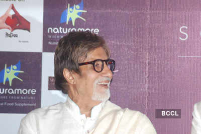 Big B launches Aadesh's album