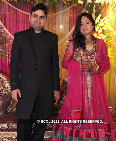 Vaibhav-Neha's wedding reception
