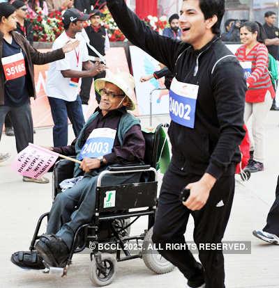 Delhi half marathon 2011