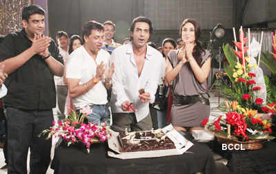 Heroine: On the sets