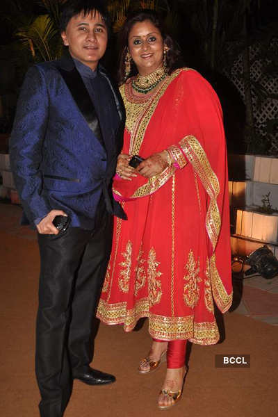 Celebs at Advait & Priyanka's wedding