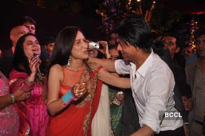 Celebs at Advait & Priyanka's wedding
