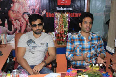 Emraan promotes 'The Dirty Picture'