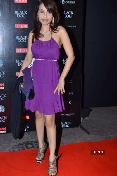 Mallya at 'Black Dog' comedy evening