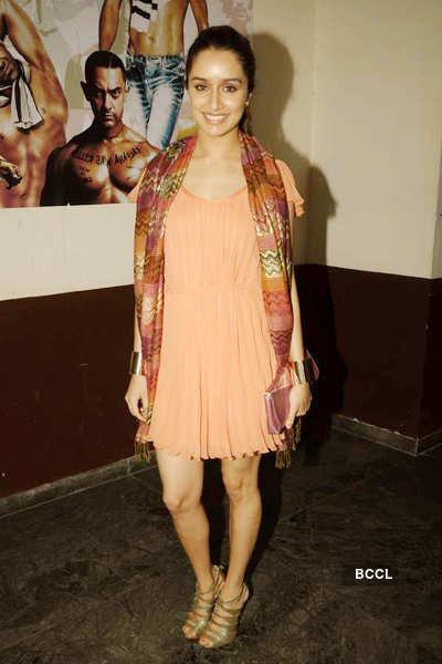 Celebs @ 'The Dirty Picture' screening