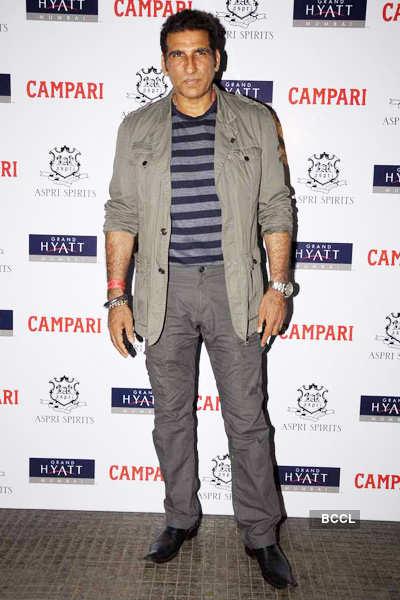 Celebs @ 'Campari' calendar launch