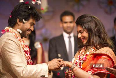 Chiranjeevi's son Ram Charan gets engaged
